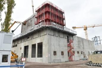 Le chantier de l'unité U3 a démarré le 21 mars.