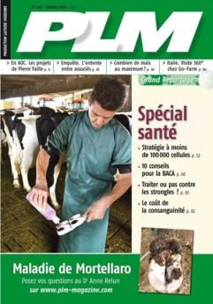 Couverture du magazine PLM d'octobre 2012