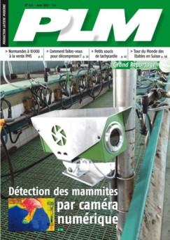 couverture de juin du magazine de production laitière PLM:
